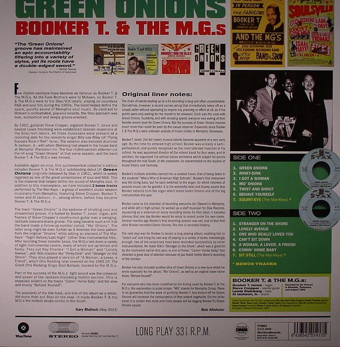 BOOKER T & THE MGs - Green Onions (stereo)