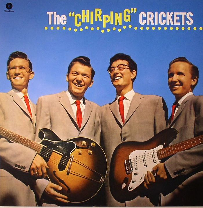 BUDDY HOLLY & THE CRICKETS - The Chirping Crickets