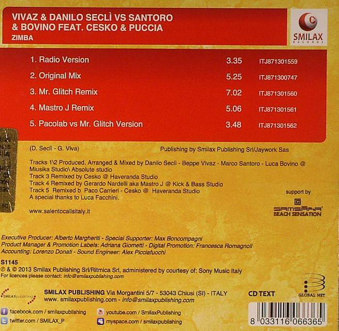 VIVAZ & DANILO SACLI vs SANTORO & BOVINO feat CESKO & PUCCIA - ZIMBA