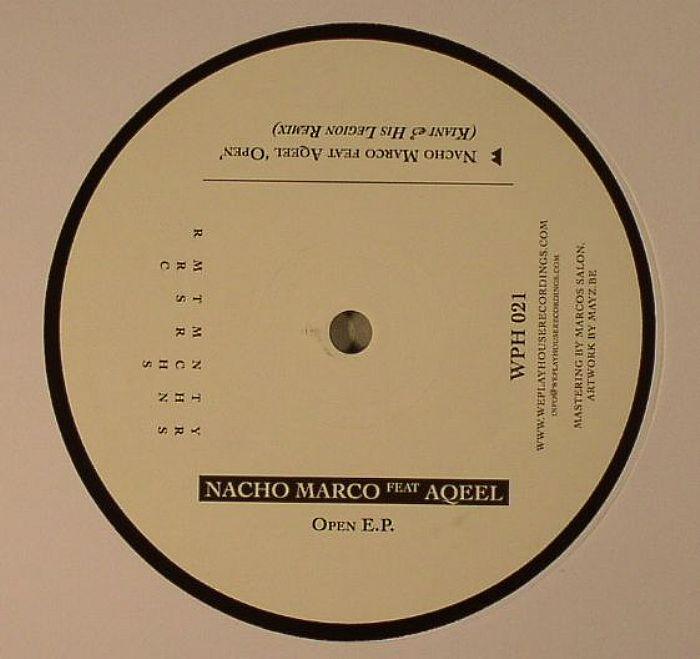 MARCO, Nacho feat AQEE - Open EP