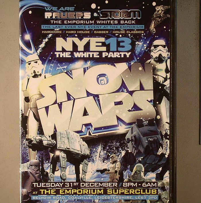 VARIOUS - Ravers Reunited: New Years Eve 2013/14 Recorded Live @ The Emporium Superclub