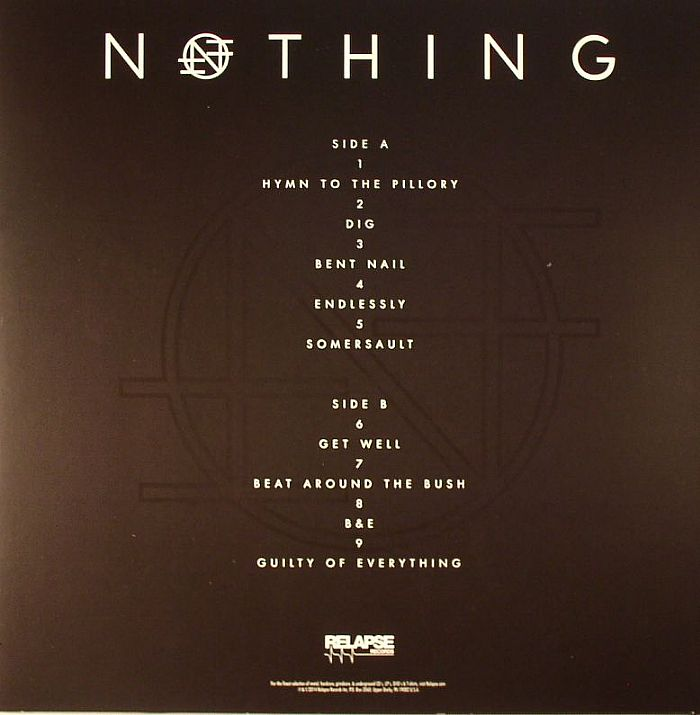 NOTHING - Guilty Of Everything