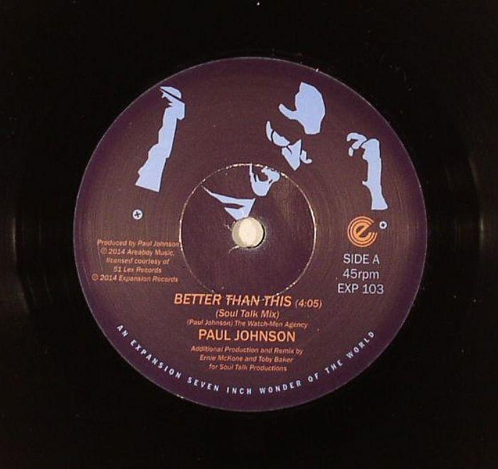 JOHNSON, Paul - Better Than This (remixes)