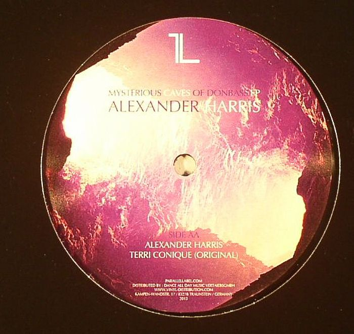 HARRIS, Alexander - Mysterious Caves Of Donbass EP
