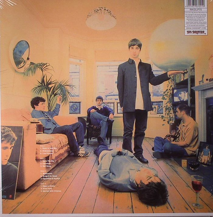Oasis definitely maybe vinyl
