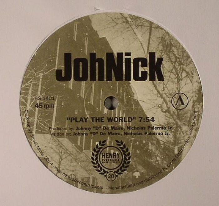 JOHNICK - Play The World