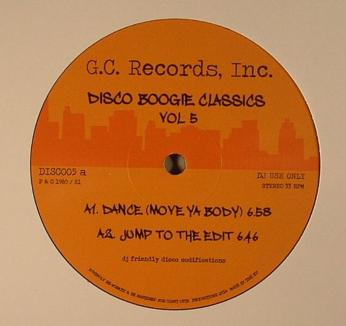 DISCO BOOGIE CLASSICS - Disco Boogie Classics Volume 5