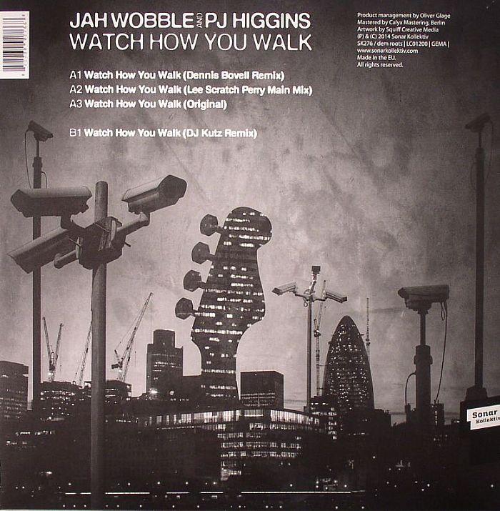WOBBLE, Jah/PJ HIGGINS - Watch How You Walk