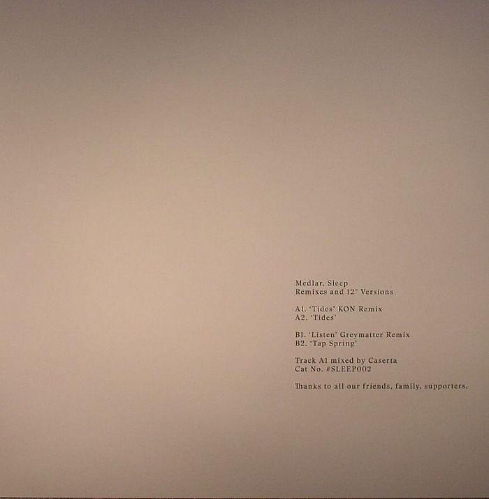 MEDLAR - Sleep: Remixes & 12