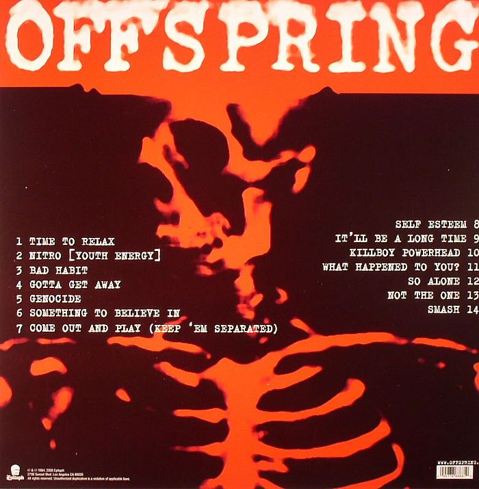 The Offspring Smash Cd