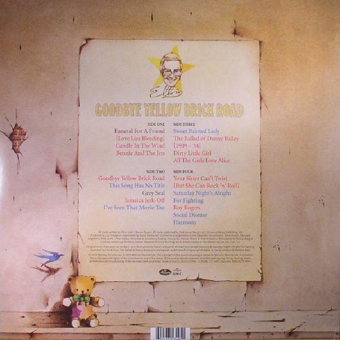 JOHN, Elton - Goodbye Yellow Brick Road: 40th Anniversary Edition (remastered)