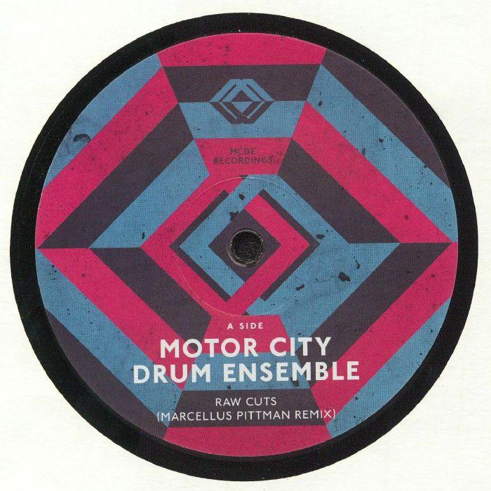 MOTOR CITY DRUM ENSEMBLE - Raw Cuts (remixes)