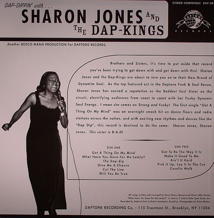 JONES, Sharon & THE DAP KINGS - Dap Dippin' With Sharon Jones & The Dap Kings (remastered)
