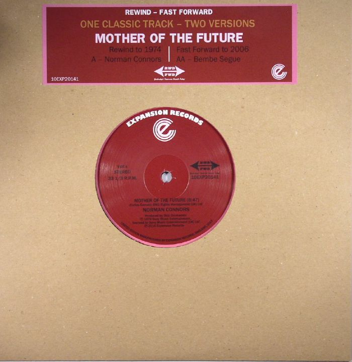 CONNORS, Norman/BEMBE SEGUE - Mother Of The Future