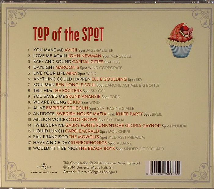 VARIOUS - Top Of The Spot 2014