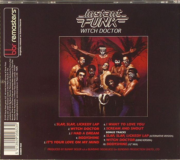 Instant Funk Witch Doctor : Instant funk witch doctor remastered vinyl at juno records