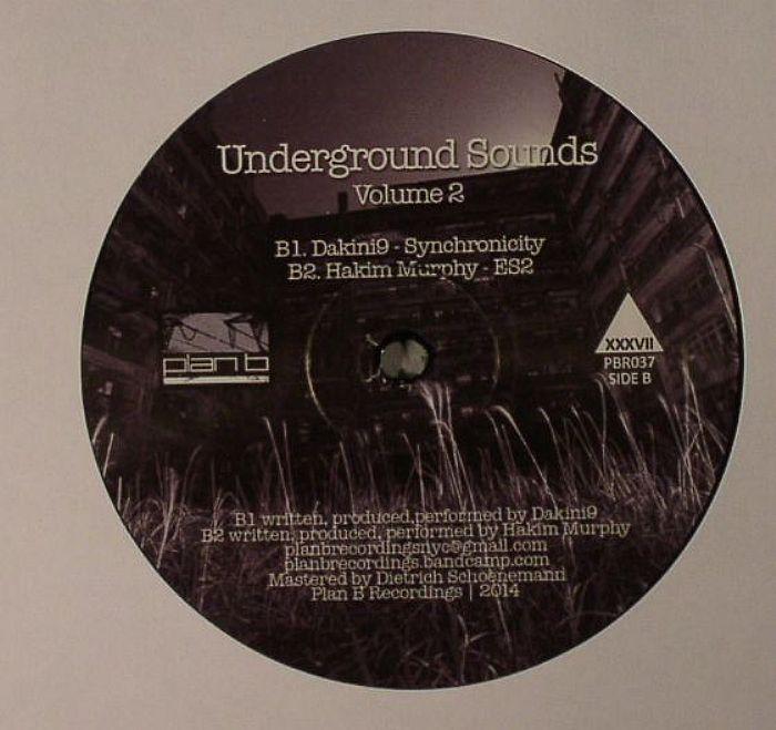 DJ SPIDER/PHIL MOFFA/DAKINI9/HAKIM MURPHY - Underground Sounds Volume 2