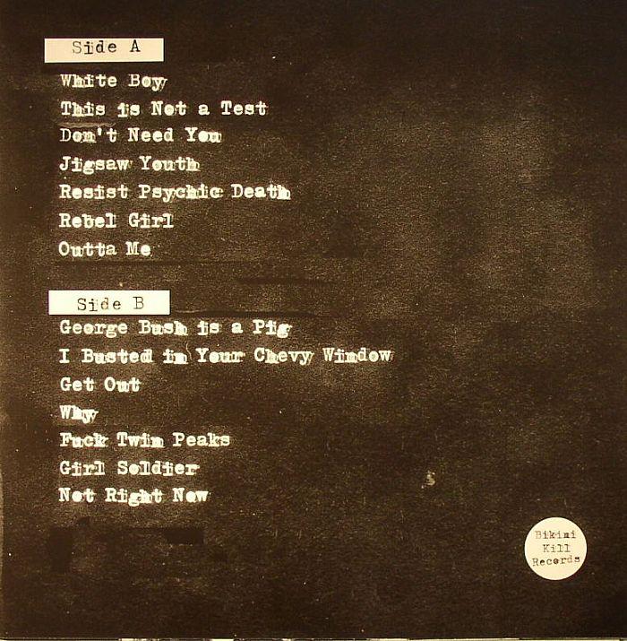 BIKINI KILL - Yeah Yeah Yeah Yeah EP (reissue + 7 bonus tracks)