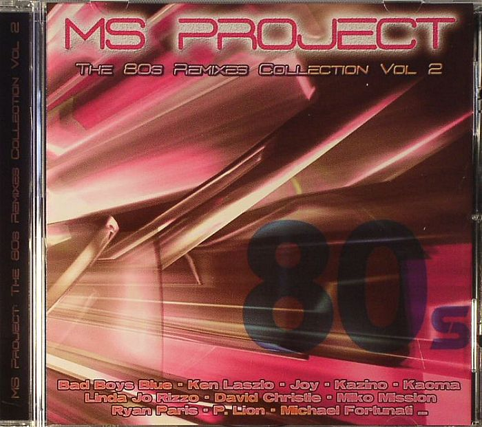 ms project the 80s remixes collection vol 2 vinyl at juno records. Black Bedroom Furniture Sets. Home Design Ideas