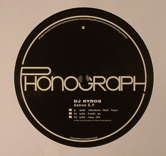 DJ KYROS - Astron EP