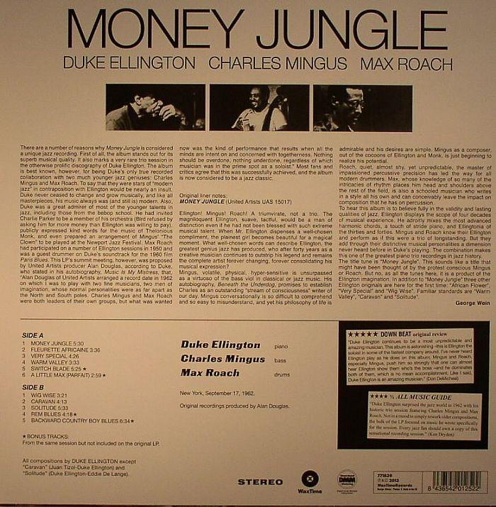 ELLINGTON, Duke - Money Jungle (stereo) (remastered)
