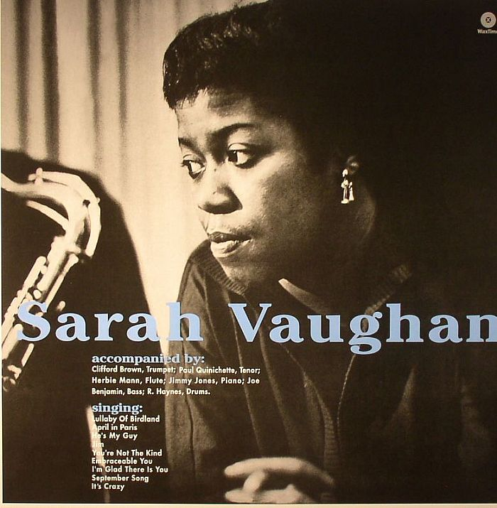 VAUGHAN, Sarah - With Clifford Brown (remastered)