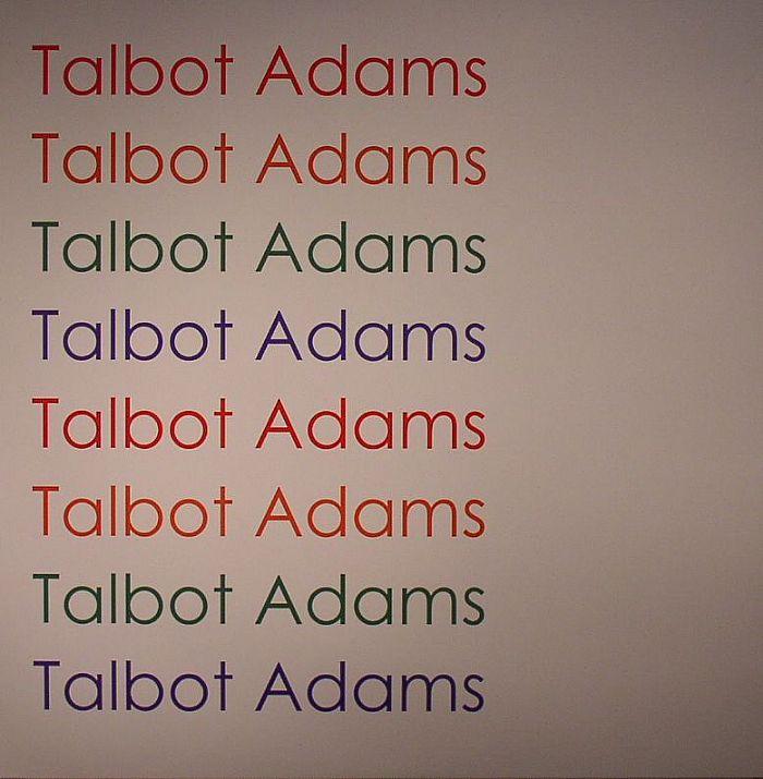 ADAMS, Talbot - Talbot Adams