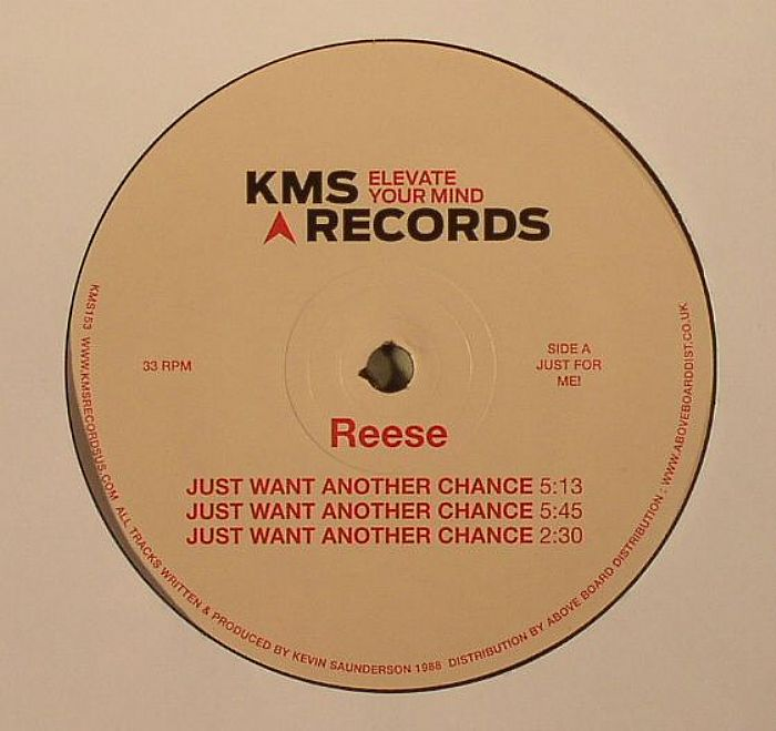 REESE - Just Want Another Chance