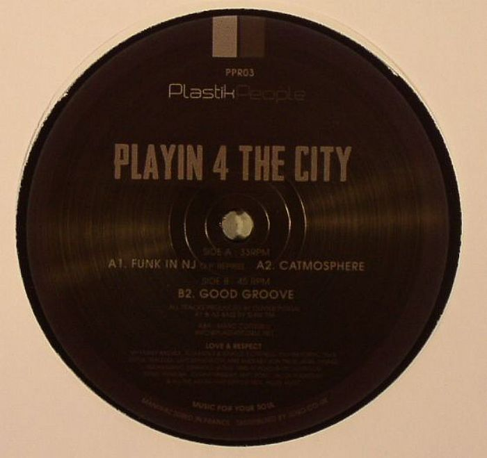 PLAYIN 4 THE CITY - Playin EP