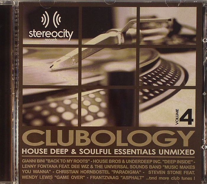 Various clubology volume 4 house deep soulful for Juno deep house
