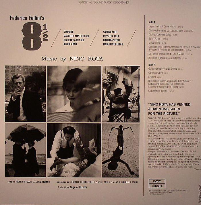 Nino ROTA 8 E Mezzo (Soundtrack) vinyl at Juno Records.