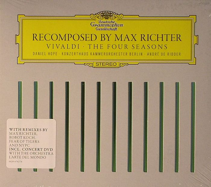 Max Richter Recomposed By Max Richter Vivaldi The Four
