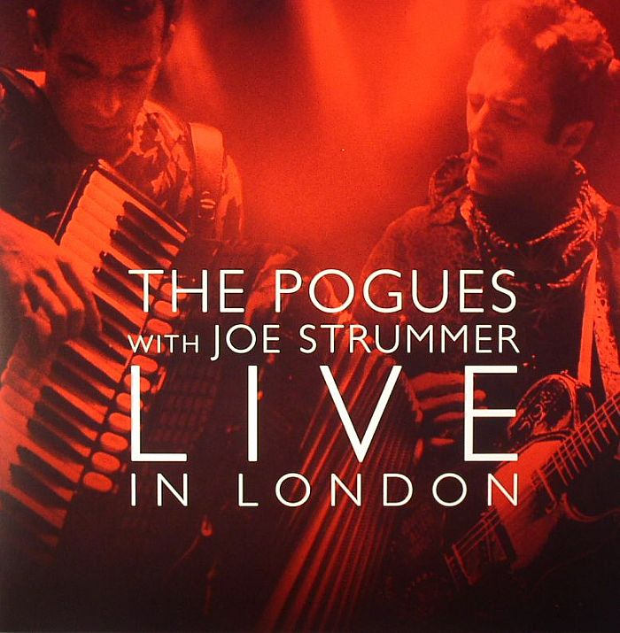 The With Joe Strummer Pogues Live In London Record Store