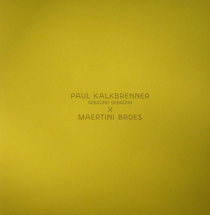 KALKBRENNER, Paul - Gebrunn Gebrunn