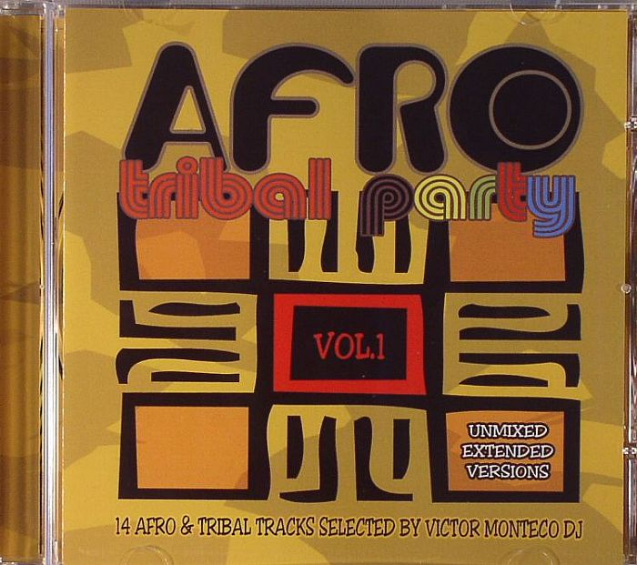 MONTECO, Victor/VARIOUS - Afro Tribal Party Vol 1