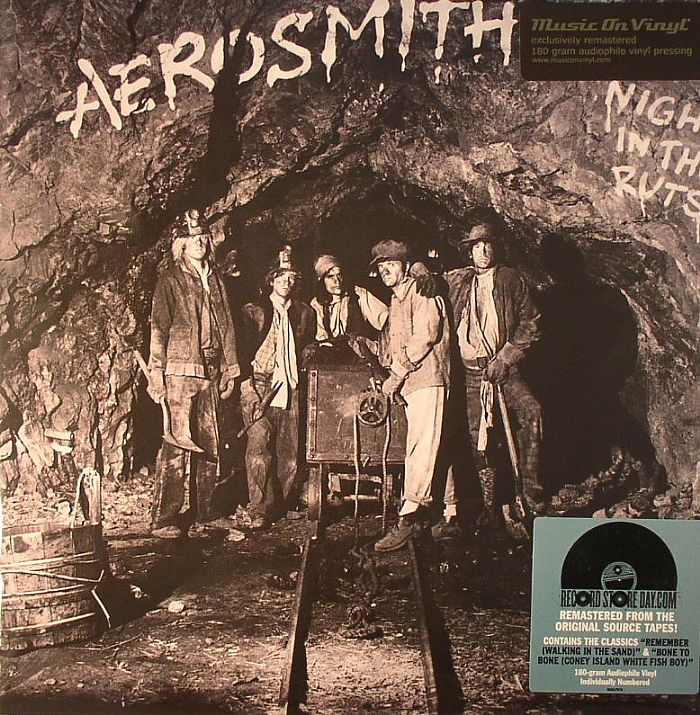 AEROSMITH - Night In The Ruts (remastered) (Record Store Day 2014)