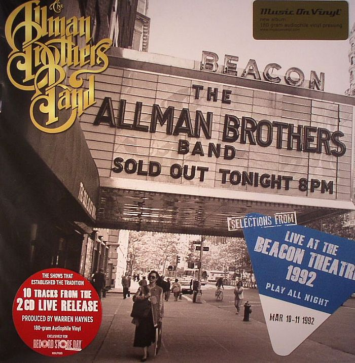 Allman Brothers Band Selections From Play All Night