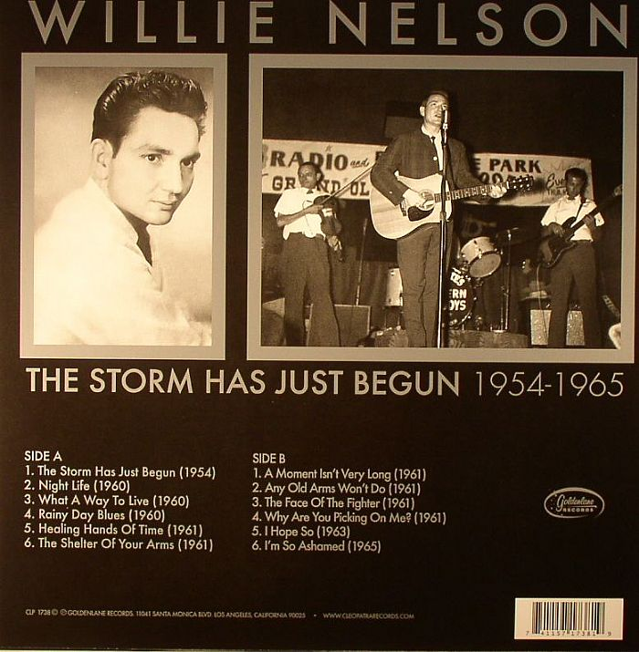 NELSON, Willie - The Storm Has Just Begun 1954-1965