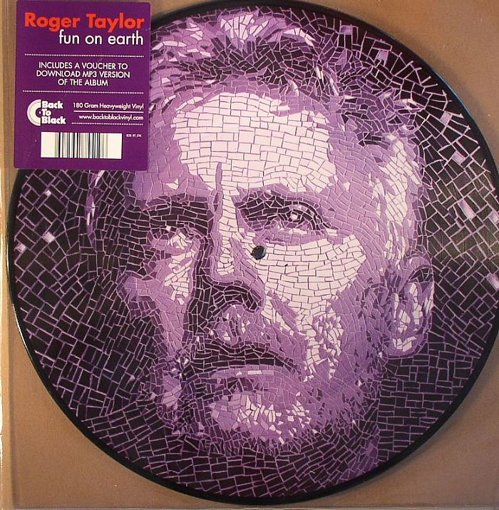 Roger Taylor Fun On Earth Record Store Day 2014 Vinyl At