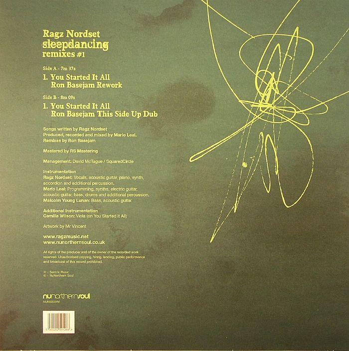 RAGZ NORDSET - Sleepdancing Remixes #1 (Record Store Day 2014)