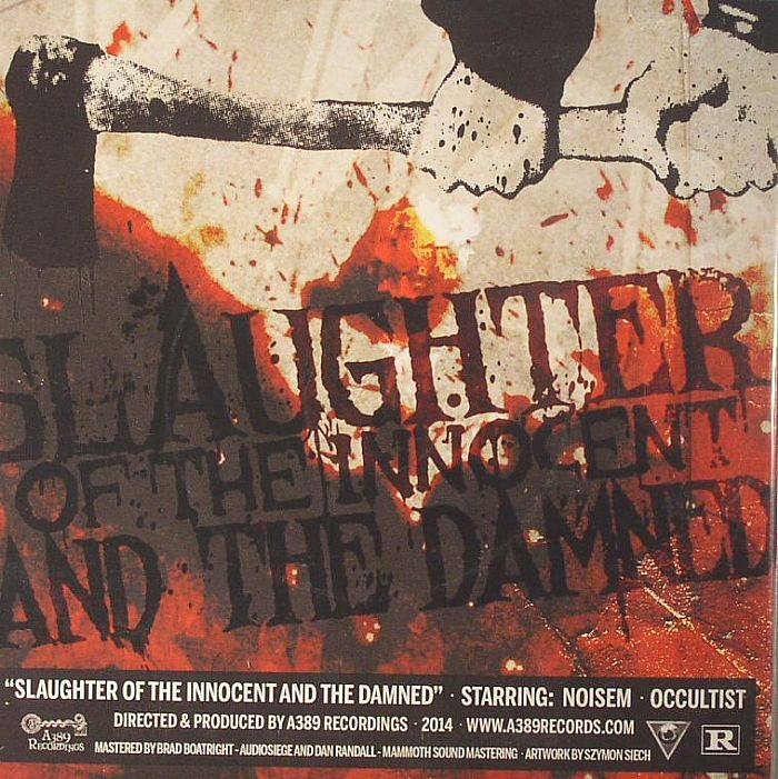 NOISEM/OCCULTIST - Slaughter Of The Innocent & The Damned (Record Store Day 2014)