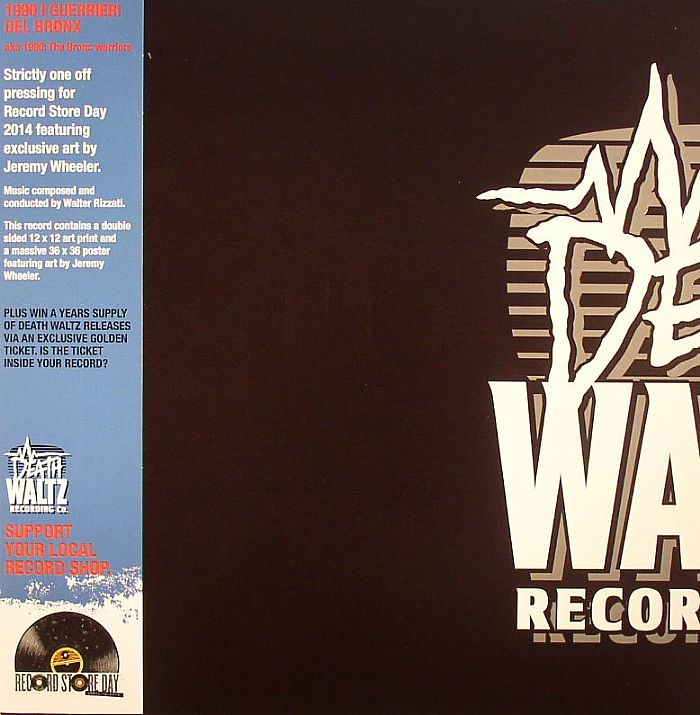 RIZZATI, Walter - 1990: I Guerrieri Del Bronx aka The Bronx Warriors (Soundtrack)