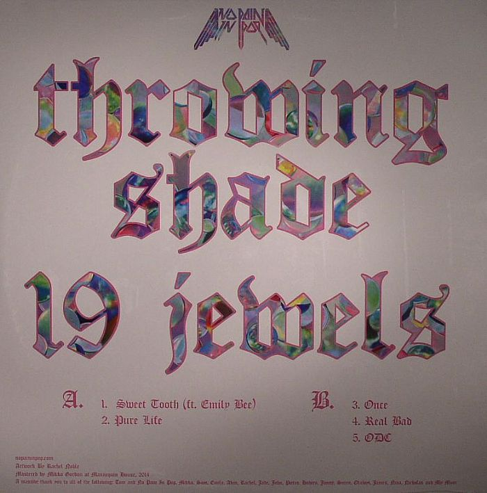 THROWING SHADE - 19 Jewels
