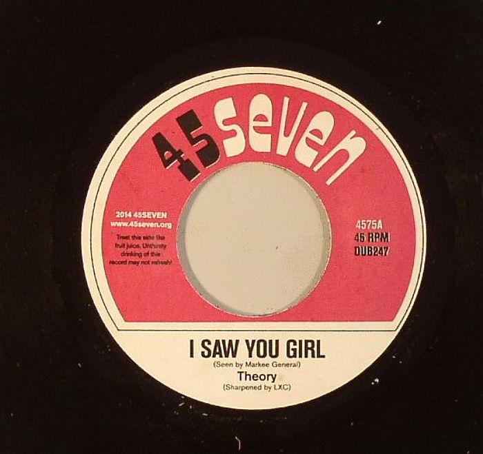 THEORY/DANJAH WISE - I Saw You Girl