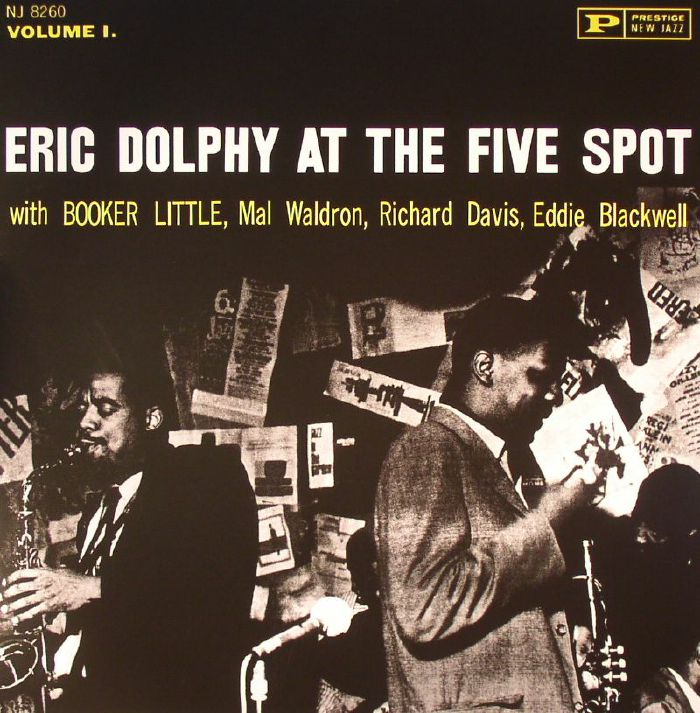 DOLPHY, Eric - Eric Dolphy At The Five Spot Vol 1