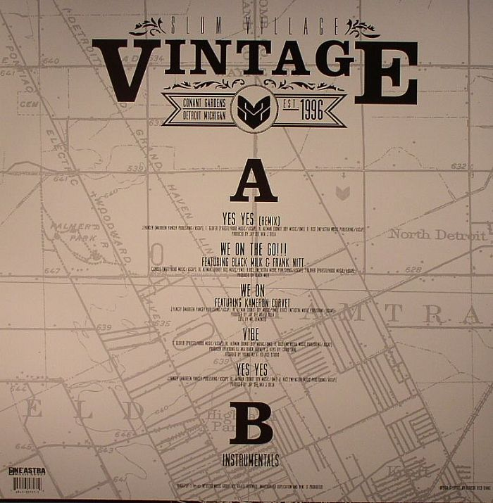 SLUM VILLAGE - Vintage