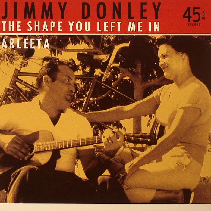 DONLEY, Jimmy - The Shape You Left Me In (remastered)