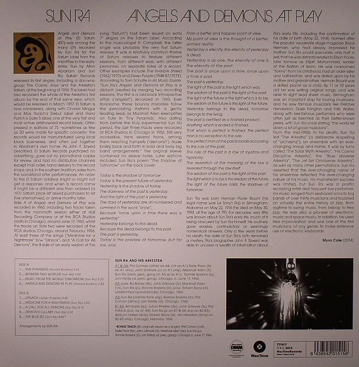 SUN RA - Angels & Demons At Play (remastered)