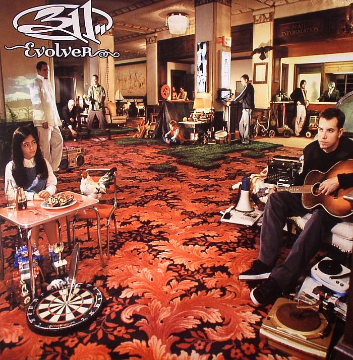 311 Evolver Remastered Record Store Day 2014 Vinyl At