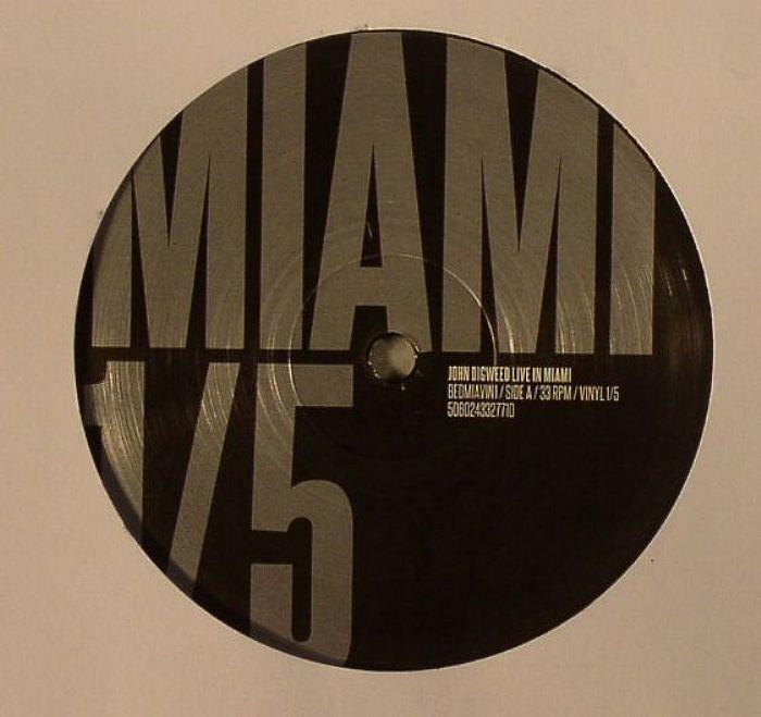 GARNIER, Laurent/NICOLE/HARVEY McKAY - John Digweed Live In Miami Vinyl 1/5